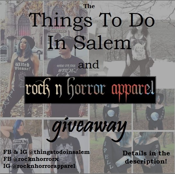 things to do in salem, rock n horror giveaway