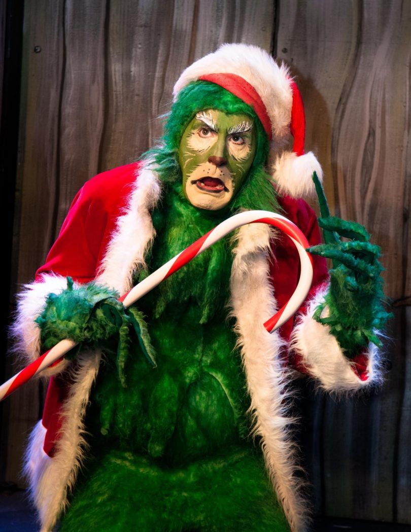 things to do in salem, a very grinchy holiday special, gallows hill theater salem
