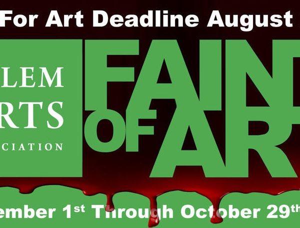 things to do in salem, faint of art, salem arts association