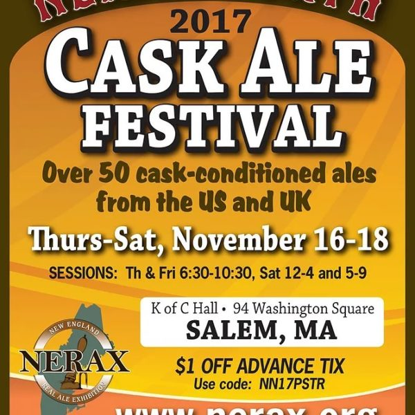 things to do in salem, NERAX north, NERAX cask ale festival 2017