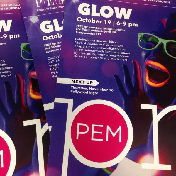 things to do in salem, october pemPM glow peabody essex museum