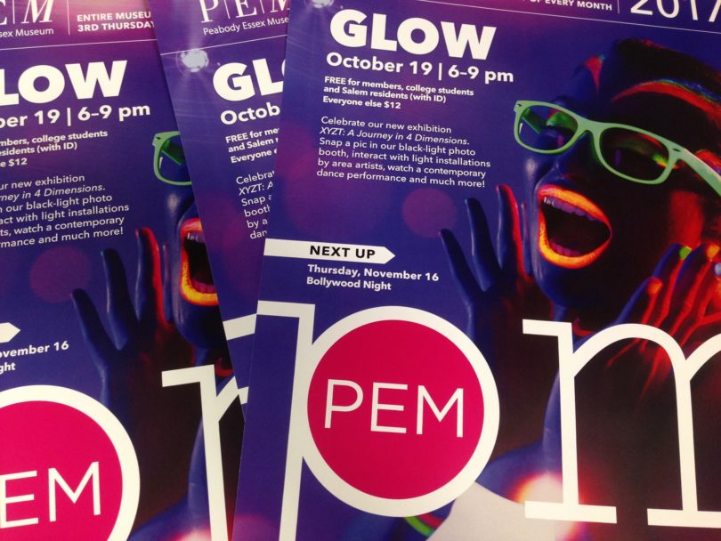 things to do in salem, october pemPM glow peabody essex museum