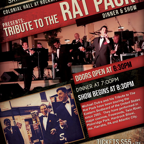 things to do in salem, tribute to the rat pack, colonial hall at rockafellas salem