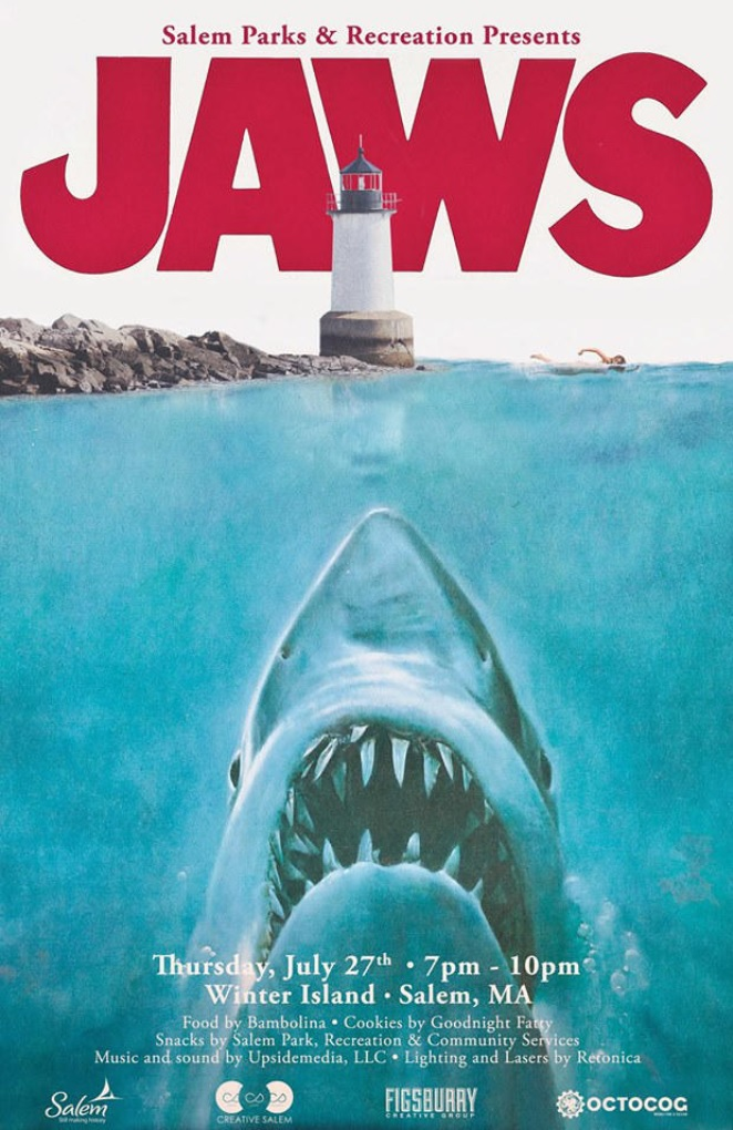 things to do in salem, winter island movie pop up, jaws