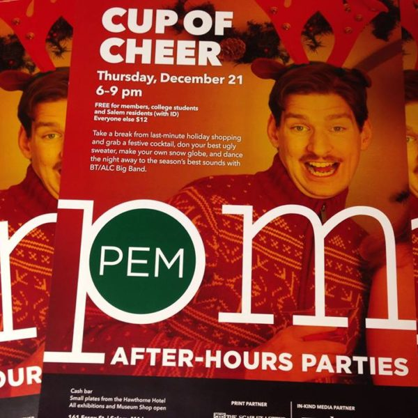 things to do in salem, PEMpm, cup of cheer, peabody essex museum salem ma
