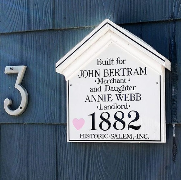 things to do in salem, historic salem inc., house plaque love